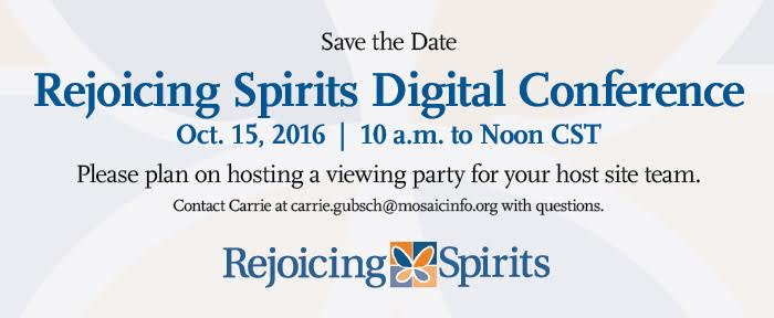 Save the Date: RS Digital Conference, Oct. 15, 2016